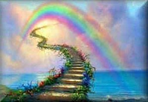 pont de l`arc en ciel